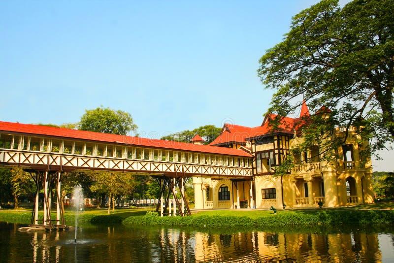 Palácio de Sanam Chan imagens de stock royalty free