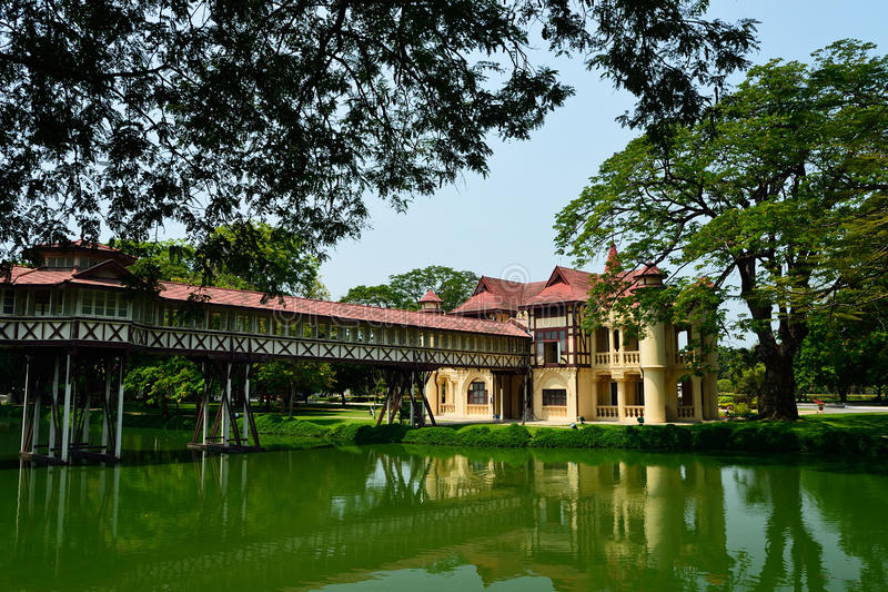 Palácio de SanamJan, Nakornpathom, Tailândia. fotos de stock royalty free