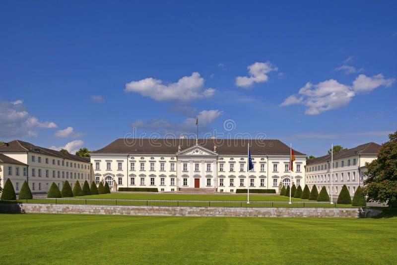Palácio de Schloss Bellevue, Berlim imagem de stock