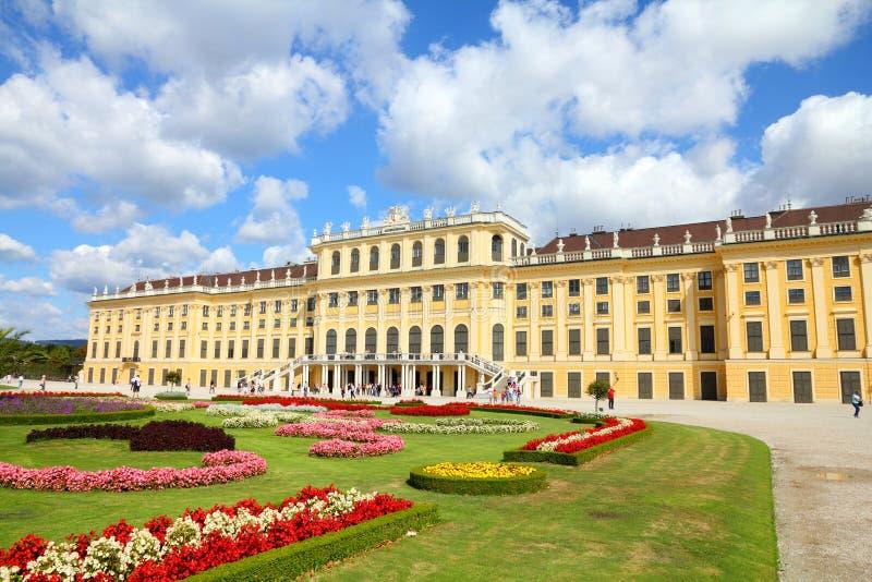Palácio de Schoenbrunn, Viena imagens de stock royalty free