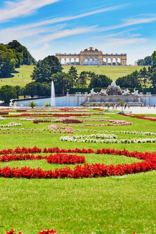 Palácio de Schonbrunn, Viena, Áustria foto de stock royalty free
