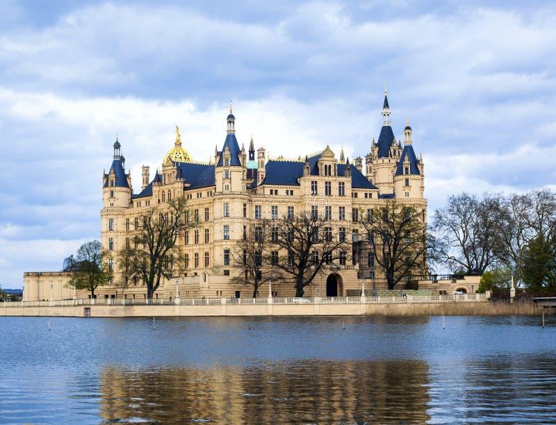 Palácio de Schwerin imagens de stock