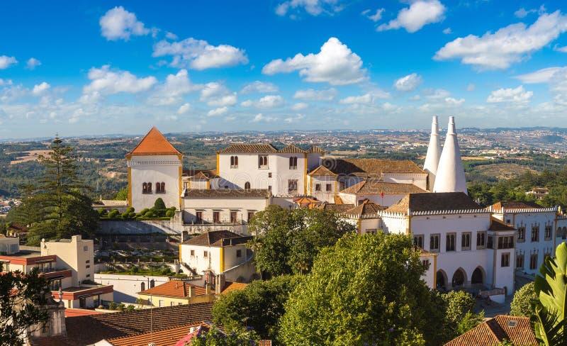 Palácio de Sintra fotografia de stock
