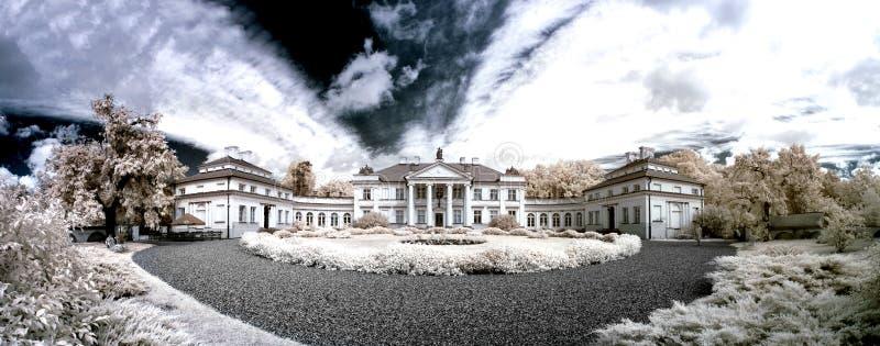 Palácio de Smielow. Palácio no maior Polônia fotografia de stock