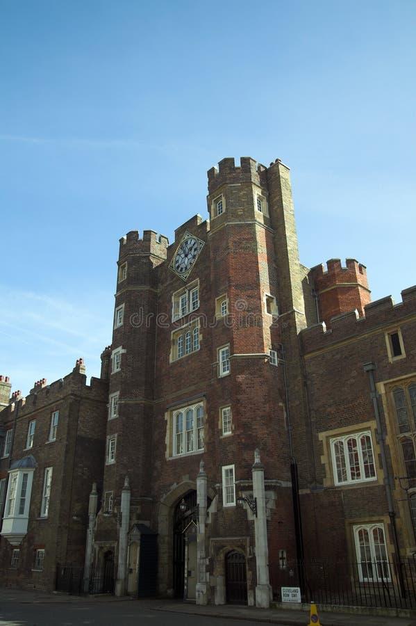 Palácio de St.James fotografia de stock