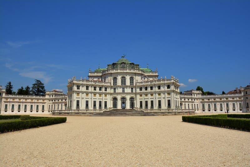 Palácio de Stupinigi em Turin, Itália fotografia de stock