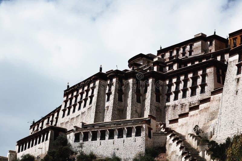 Palácio de Tibet Potala fotos de stock royalty free