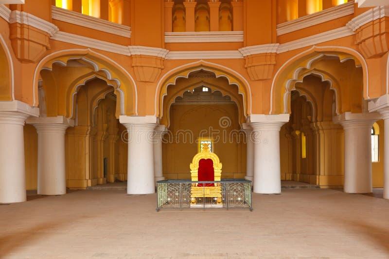 Palácio de Tirumalai Nayak. Madurai, imagem de stock royalty free