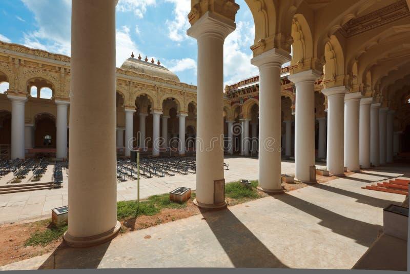 Palácio de Tirumalai Nayak. Madurai, fotos de stock royalty free