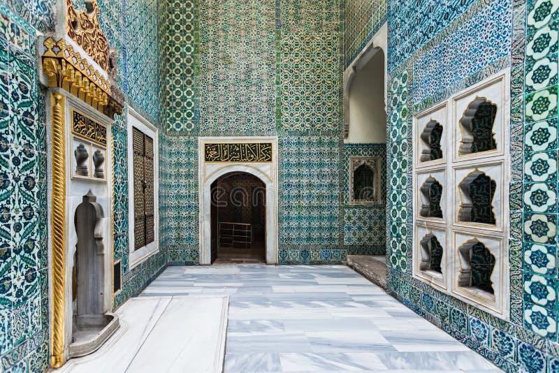 Palácio de Topkapi, Istambul imagens de stock