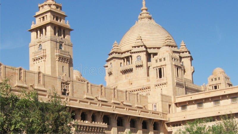 Palácio de Umaid fotos de stock royalty free