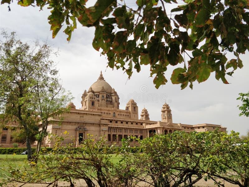 Palácio de Umaid Bhawan imagens de stock royalty free
