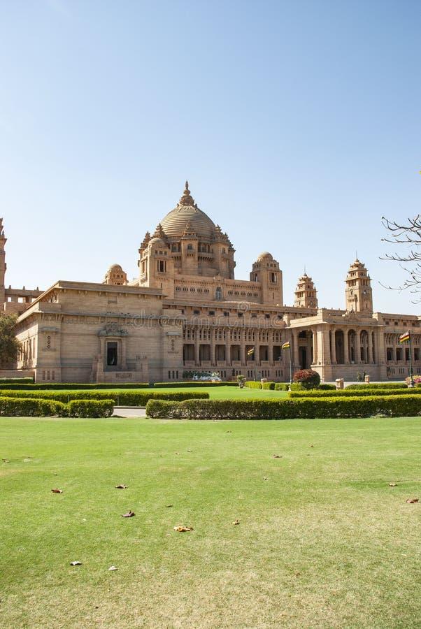 Palácio de Umaid Bhawan de Jodhpur na Índia imagens de stock royalty free