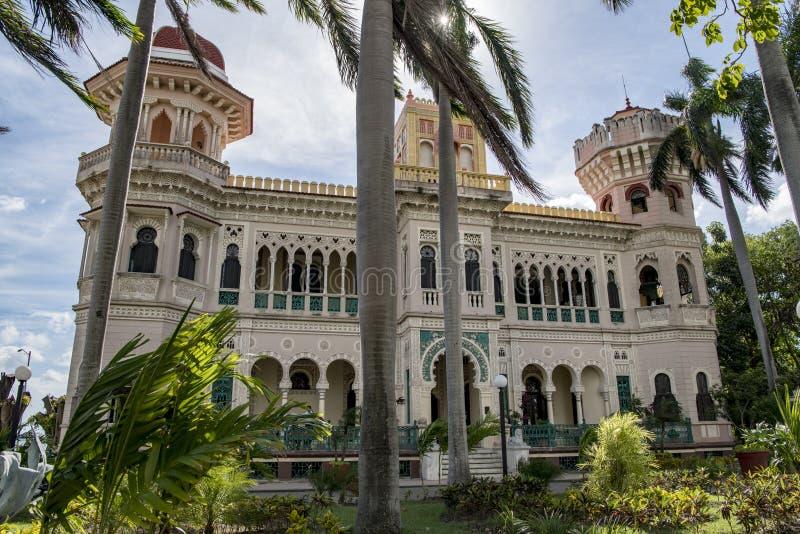 Palácio de Valle, Cienfuegos, Cuba foto de stock