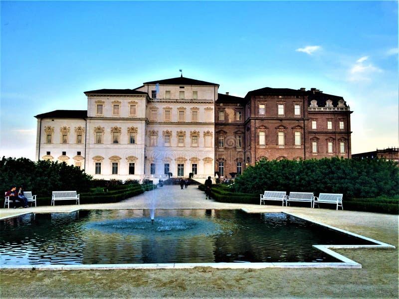 Palácio de Venaria, residência real imagem de stock