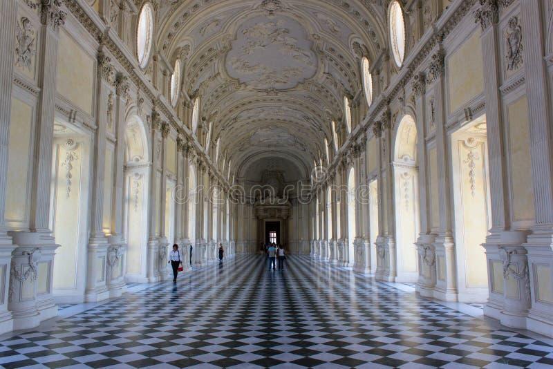 Palácio de Venaria, Turin foto de stock
