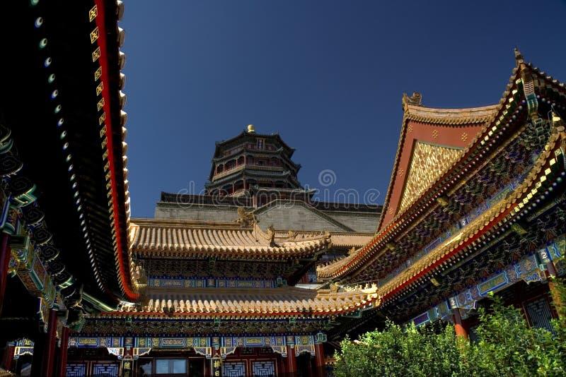 Palácio de verão, Beijing, China fotos de stock royalty free