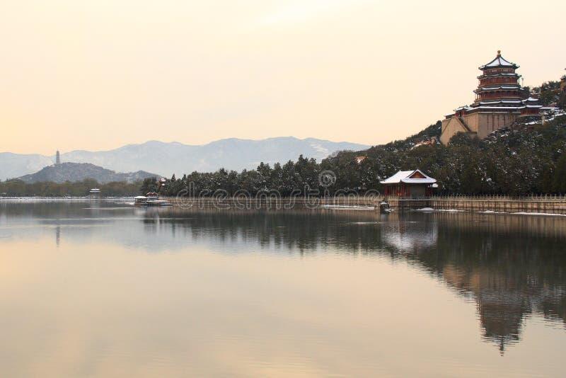 Palácio de verão em Beijing China fotos de stock
