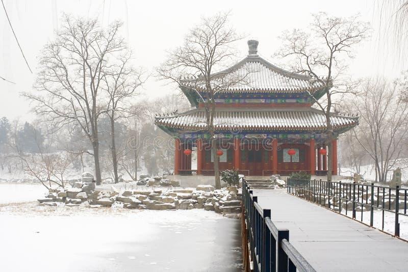 Palácio de verão velho de Beijing fotografia de stock royalty free