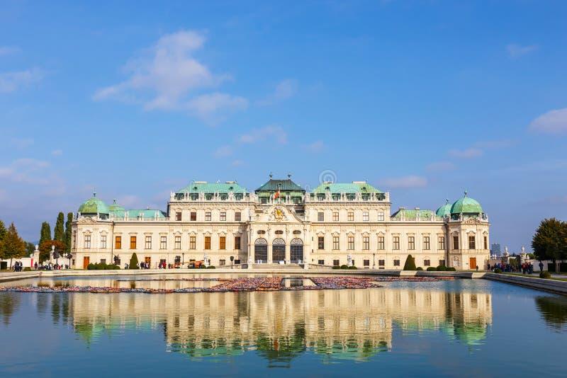 Download Palácio Do Belvedere Em Viena, Áustria Imagem Editorial - Imagem de edifício, exterior: 80102490