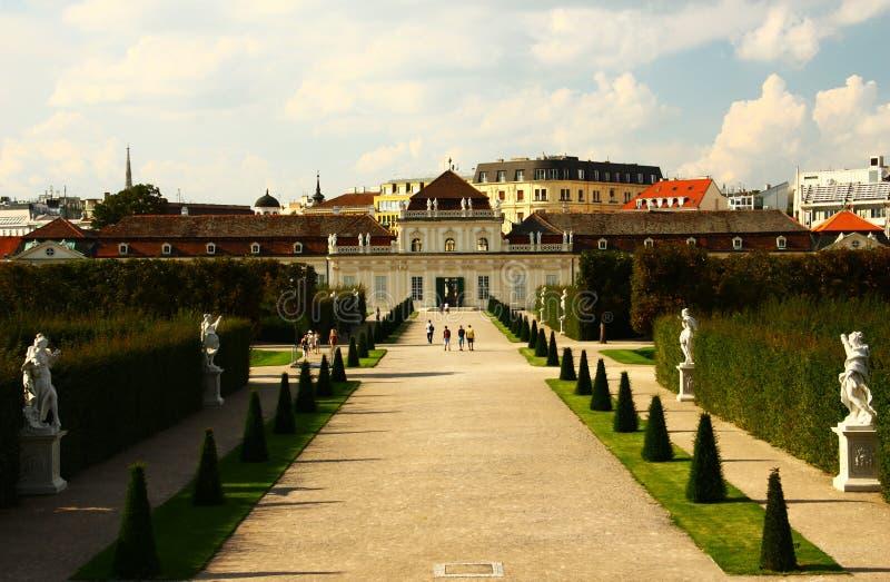 Download Palácio Do Belvedere, Viena Foto de Stock - Imagem de vista, monumento: 26506210