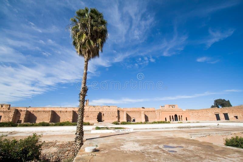 Palácio do EL Badi imagens de stock royalty free