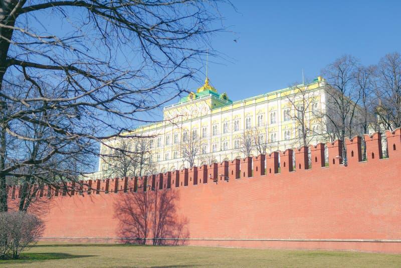 Palácio do Kremlin dos congressos fotos de stock royalty free