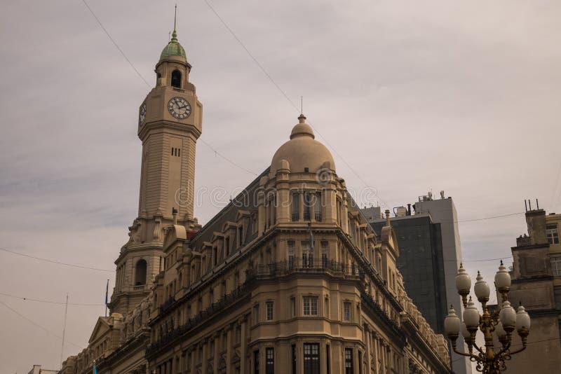 Palácio do Legislativo da Cidade de Buenos Aires também chamado Palacio Ayerza imagens de stock royalty free