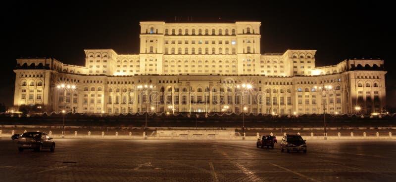 Palácio do parlamento fotografia de stock