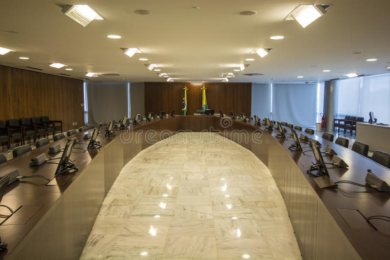 Palácio do Planalto - Brasília - DF - Brazilië royalty-vrije stock afbeeldingen