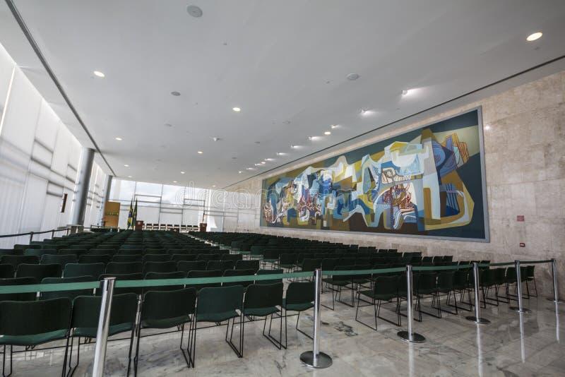 Palácio do Planalto - Brasília - DF - Brazilië royalty-vrije stock foto's