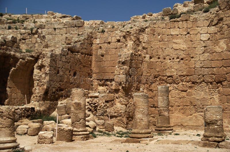 Palácio do rei Herod fotografia de stock royalty free