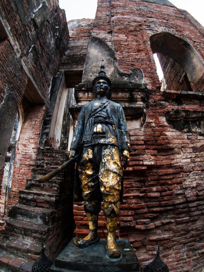 Palácio do rei Narai The Great, Lopburi, Tailândia fotografia de stock