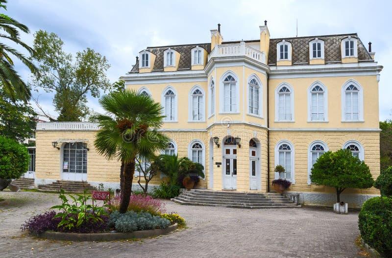 Palácio do rei Nikola (palácio Topolitsa) na barra, Montenegro fotos de stock