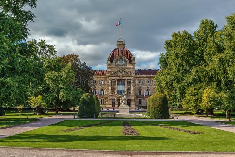 Palácio do Reno, Strasbourg imagem de stock