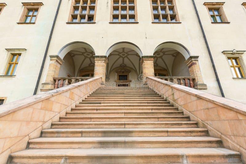 Palácio do século XVII dos bispos de Krakow em Kielce, Polônia fotografia de stock royalty free