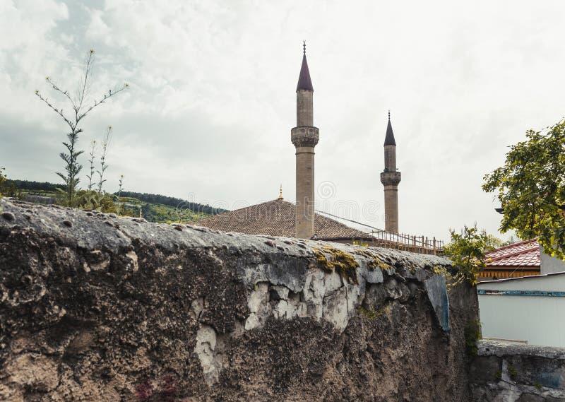 Palácio do ` s de Khan em Bakhchisaray imagem de stock