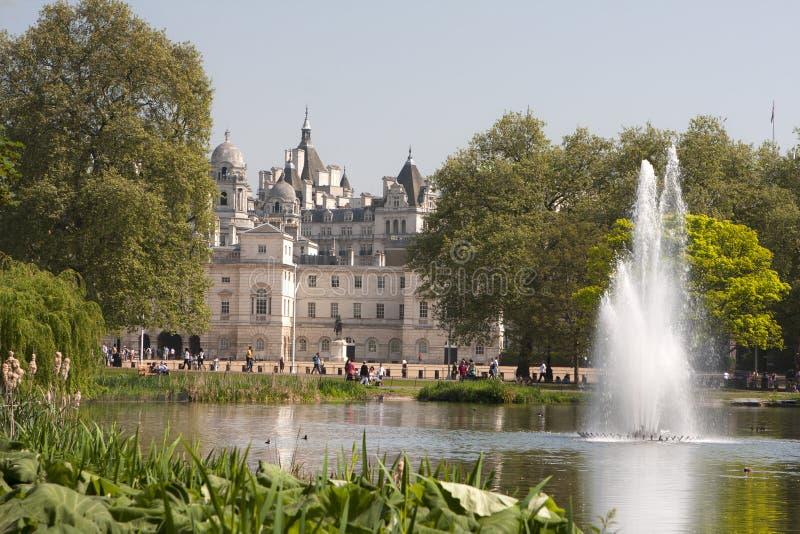Palácio do St James imagem de stock royalty free