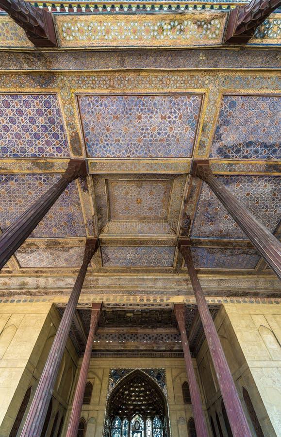 Palácio em Isfahan imagem de stock