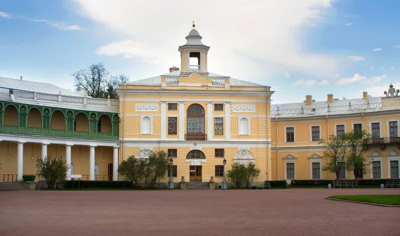 Palácio em Rússia (St Petersburg) fotografia de stock