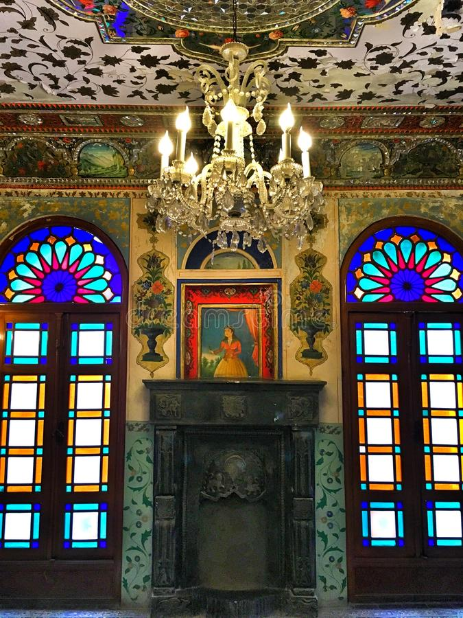 Palácio em Teheran imagem de stock royalty free