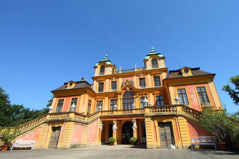 Palácio favorito, Alemanha fotografia de stock