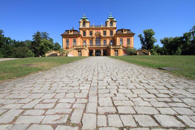 Palácio favorito, Alemanha fotos de stock