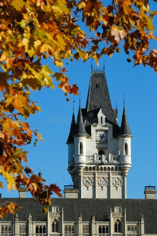 Palácio Grafenegg no.1 foto de stock royalty free