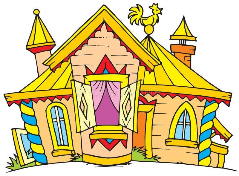Palácio (grampo-arte do vetor) ilustração do vetor