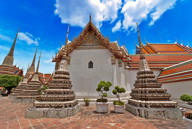 Palácio grande, Banguecoque fotos de stock royalty free
