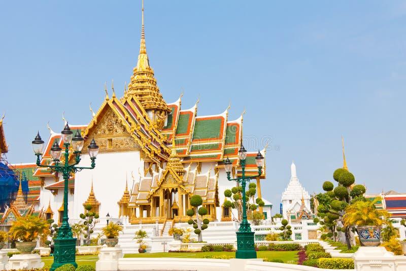 Palácio grande Banguecoque Tailândia fotografia de stock royalty free