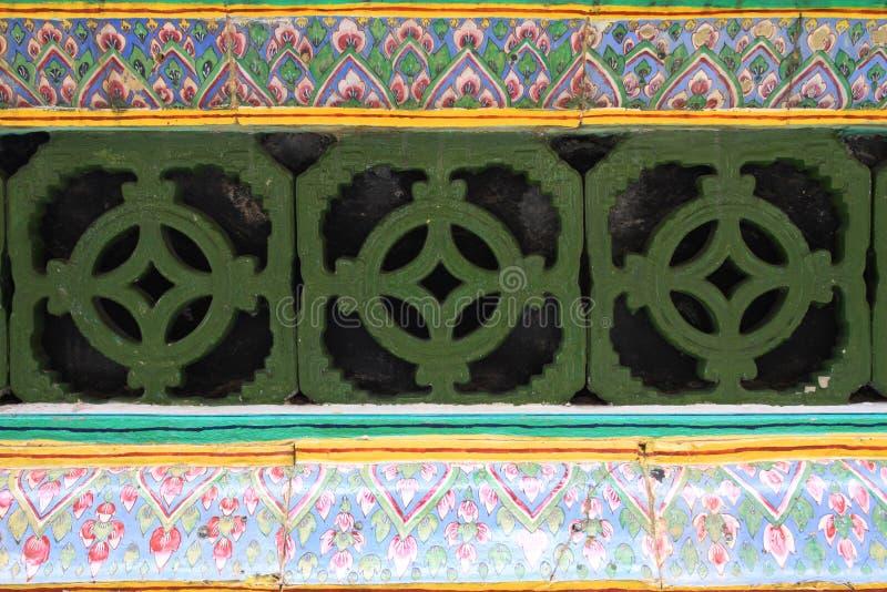 Palácio grande de Wat Phra Kaeo fotografia de stock royalty free