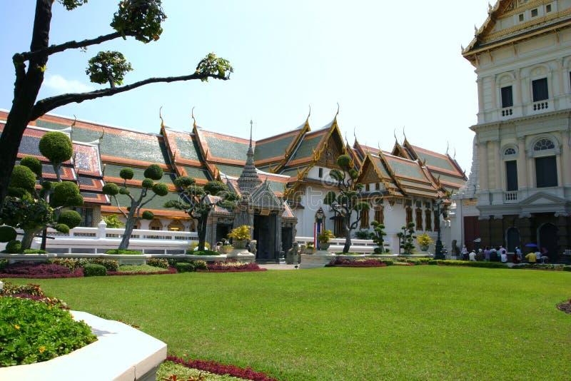 Palácio grande em Tailândia fotografia de stock royalty free