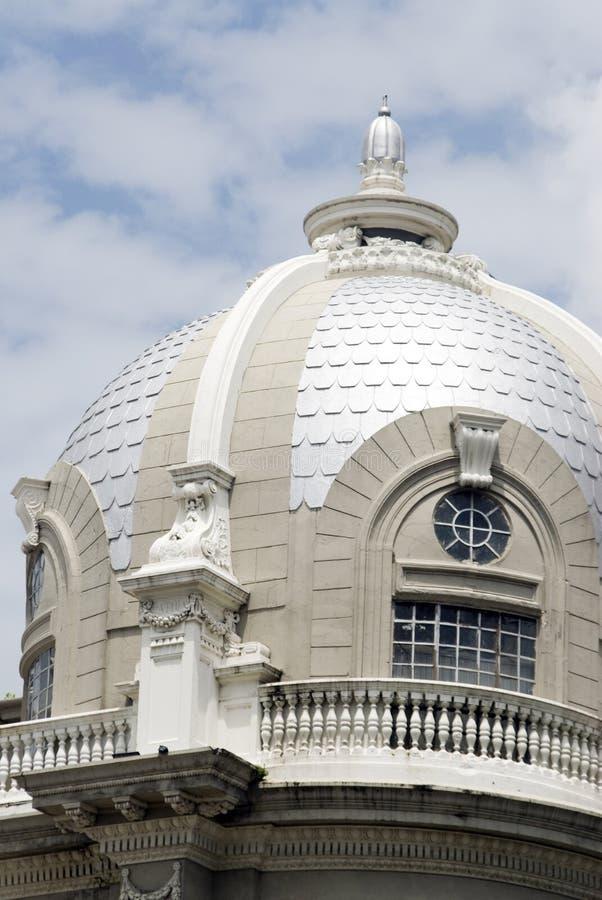 Palácio guayaquil Equador de Simon Bolivar do detalhe imagem de stock royalty free